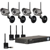 Lorex Digital Wireless Security Camera System (LH118501C4W)