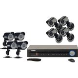 Lorex LH118 Eco LH118501C8B Video Surveillance System. 8 CH SECURITY DVR W/ 8 CAMERAS 3G MOBILE H.264 500GB 420TVL CAMS NV-CAM. 8 x Digital Video Recorder, Camera – H.264 Formats – 500 GB Hard Drive