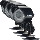 Lorex 4-Pack High Resolution Security Camera CVC7575PK4B