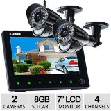 Lorex LW2752 SD Pro Wireless Surveillance System w/7″ LCD Screen