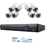 Lorex Lh1896 8 Channel 960h Cameras with 1tb DVR Remote Viewing Security Cameras System