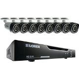 LOREX LHV10162TC8 16-Channel 720p HD Security System with 8 HD Cameras (Black)