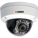 1 – Add-on 1080p Dome IP PoE Camera for Lorex(R) NVR Systems, Full HD 1080p video in real-time (30fps), 3mp 4mm lens yields 75° wide angle field of view, LND2152B