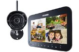 Lorex LW1741 Wireless Video Surveillance System Series with 7-Inch LCD Monitor and 1 Camera (Black)