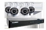LOREX LH03081TC4W 8-Channel Stratus DVR (Black)