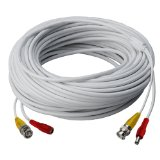 Lorex MCBL-300MRG59B 300-Feet Mini RG59/Power Cable for Lorex HD Security Camera Systems (White)