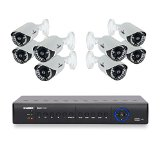 Lorex ECO4 Secuity System | 8 Camera Surveillance w/1TB DVR (LH1581TC8)