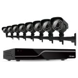 Defender Sentinel 8CH 500GB Smart Security DVR Including 8 Ultra Hi-Res Indoor/Outdoor Cameras with 100ft Night Vision,21031