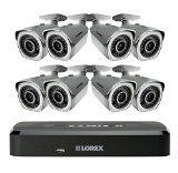 Lorex LNR1182TC8B 8 Channel 2TB Cloud Connect with 8 x 1080p HD Cameras (Black)