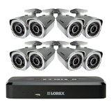 Lorex LNR1182TC8B 8 Channel 2TB Cloud Connect with 8 x 1080p HD Cameras (Black)